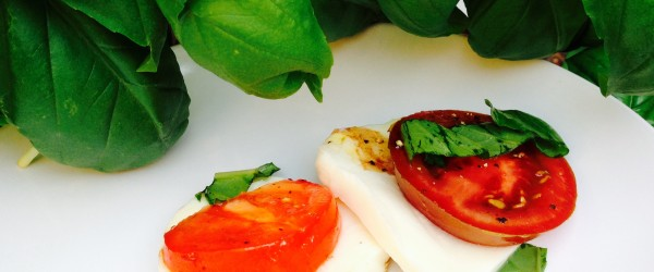 Caprese Salad: Counting My Basil, Not My Tomatoes