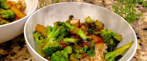 Soy Delish Stir Fry Veggie Rice Bowls (GMOs & Food, Inc. too!)