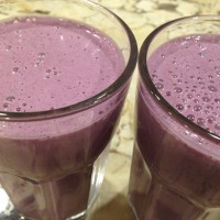 Sleepy Eyed School Morning Smoothie