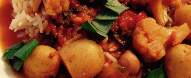 Slow Cooker: Thai Curry Vegetable Stew