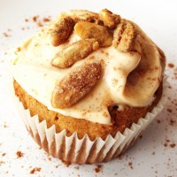 Pumpkin Spiced Cupcakes With Pumpkin Cream Cheese Frosting