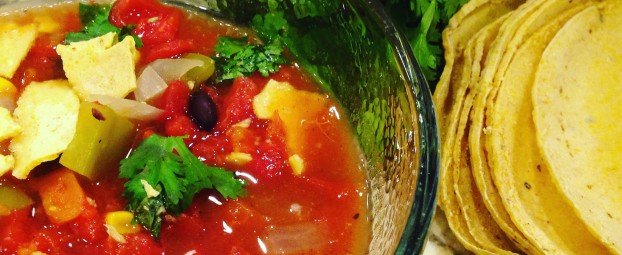 Simple One Spice Tortilla Soup