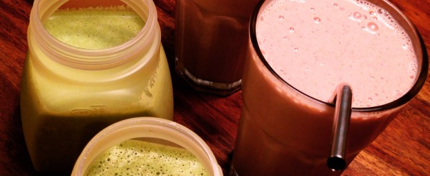 Family Smoothies With Frozen Nectarines & Pumpkin Pie Spice