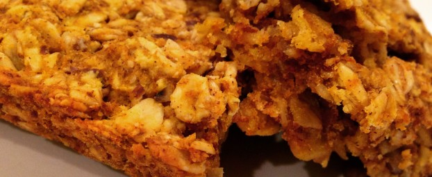 Pecan Pumpkin Honey Oat Squares