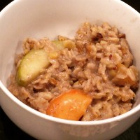 Apple Pie Oats With Maple Walnuts