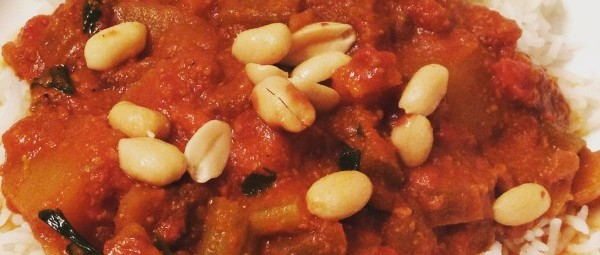 "Slow Cooker: Smoky ""Meaty"" African Peanut Stew"