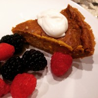 Thanksgiving Edition: Peanut Butter Coconut Cream Pumpkin Pie