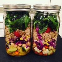 Reseting Post-Thanksgiving: Mason Jar Salads & Come Meet Me!