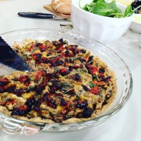 Festive Savory Holiday Tart Featured on FOX & You Have To Laugh At Yourself