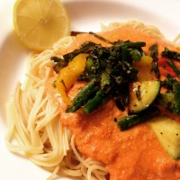30 Minute Meal: Capellini Primavera Alla The Easiest Tastiest Pink Sauce