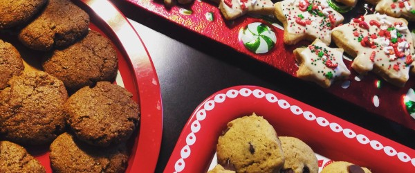Christmas Cookies Galore: Ginger Snaps, Sugar Cookies, & Chocolate Chip Cookies